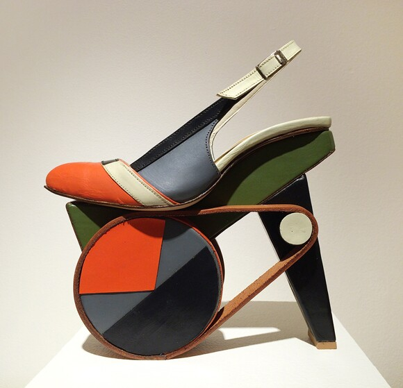 """Untitled"" by Chris Francis. On display at Craft and Folk Art Museum. 
