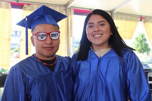 Jennifer Cortez, a South LA YouthBuild participant will soon start a nursingprogram