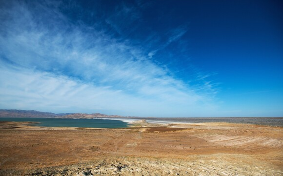 San Luis Reservoir in Los Banos. | Photo: Brittany App.