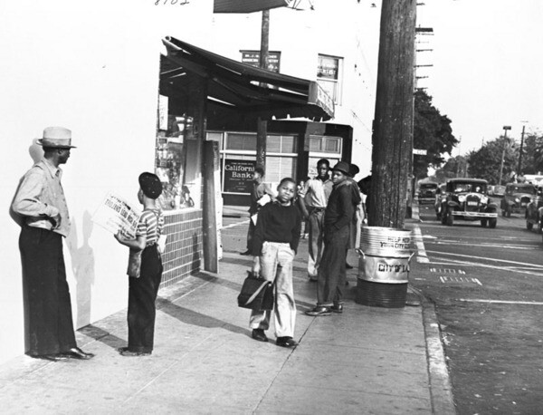 South Central Avenue, 1939 | Photo: Fred William Carter/Los Angeles Public Library