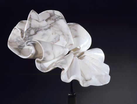 Marble Collar by Elizabeth Turk