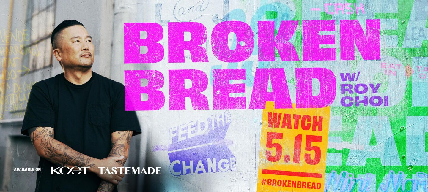 BROKEN BREAD premieres Wed., May 15 at 8:30 p.m. on PBS channel KCET in Southern California and on Tastemade's streaming television network now available on major streaming platforms.