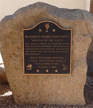 Minerva Hamilton Hoyt monument plaque | Daniel Mayer/Creative Commons