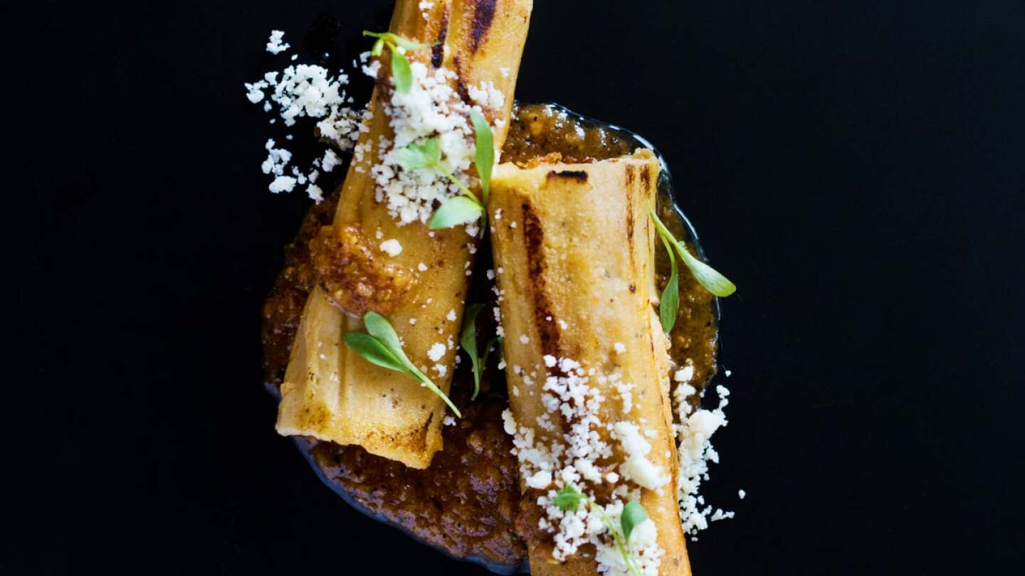 Ray Garcia's Lamb Neck Tamal from Broken Spanish | Courtesy of Life & Thyme