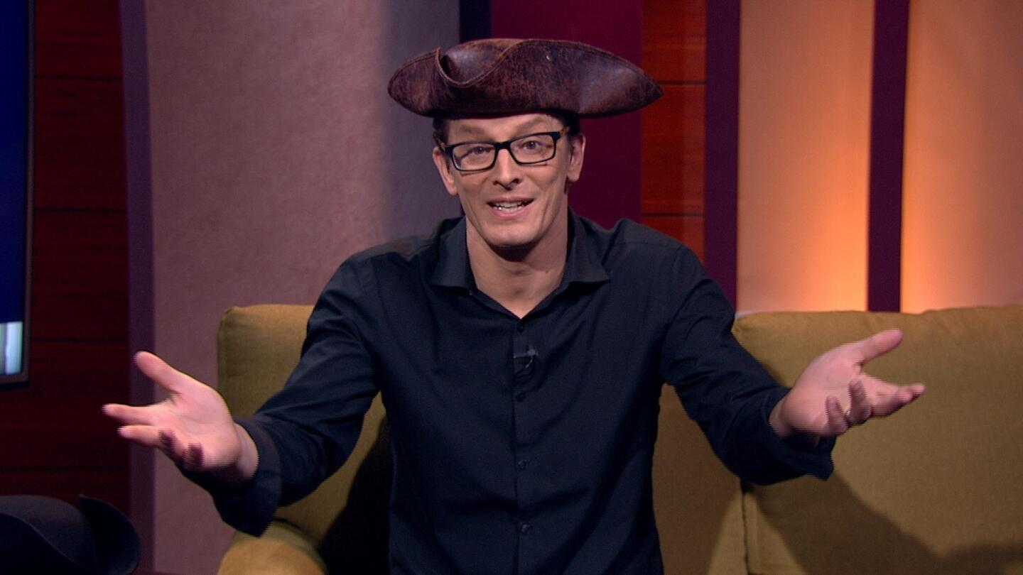 """Andy Trimlett, host of """"PBS Passport: The Mystery Revealed"""""""
