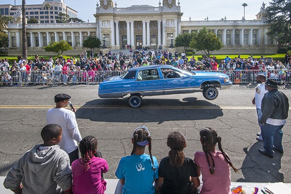 An Impala on hydraulics. | Photo: Douglas McCulloh