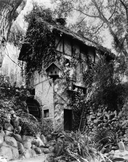 Old Mill in Busch Gardens | Security Pacific National Bank Collection, Los Angeles Public Library