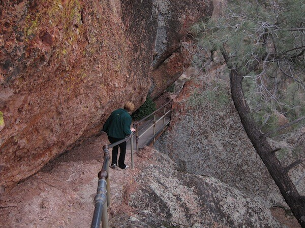 Trail work could go undown at Pinnacles. | Photo: Zach Behrens/KCET