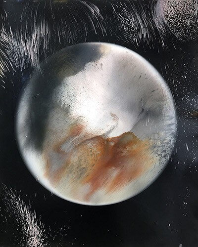 Artwork by Jacqueline Woods for the MOONS exhibition | Williamson Gallery at ArtCenter College of Design