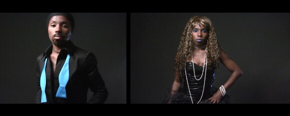 """D. Hill, """"TRANS"""" film still, 2014-2015. 