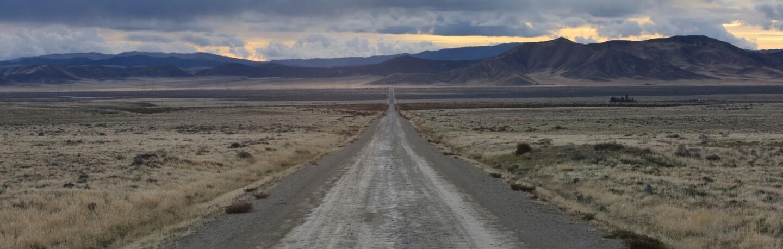 Road in Carrizo Plain