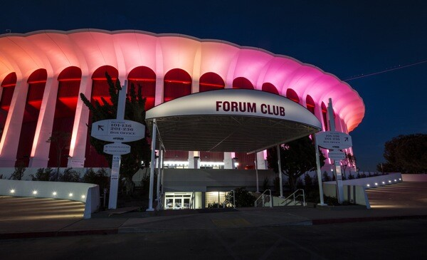 With its new owners, The Forum has recently lit up Manchester Boulevard. | Photo: Courtesy Madison Square Garden Company