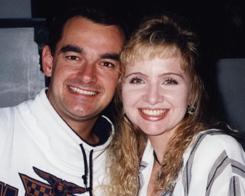 Pam Magdaleno and Manhattan Beach Police Officer Martin Ganz who was gunned down in 1993