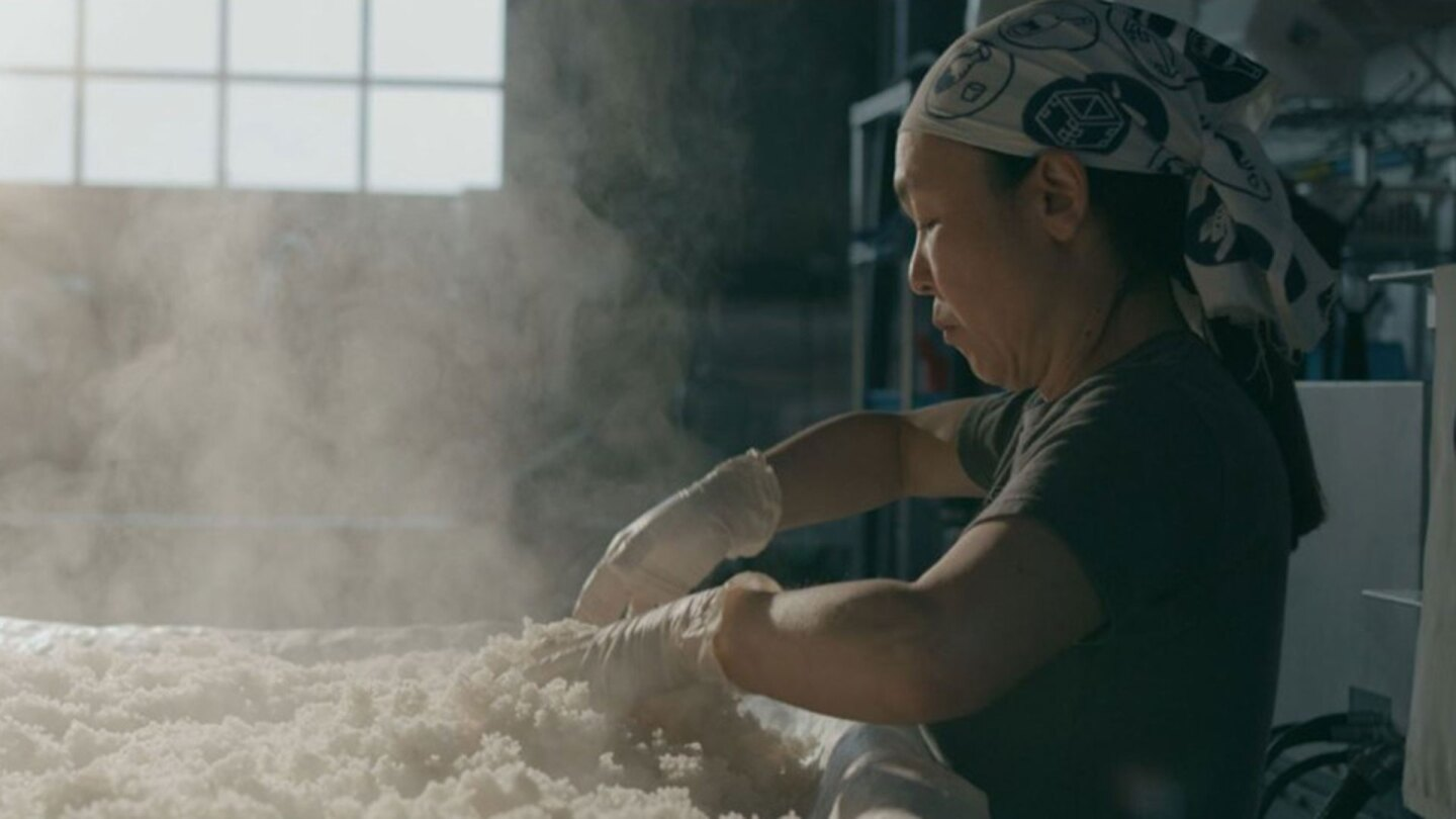 "Noriko Kamei | Still from ""The Migrant Kitchen"" Sequoia Sake MKs3"