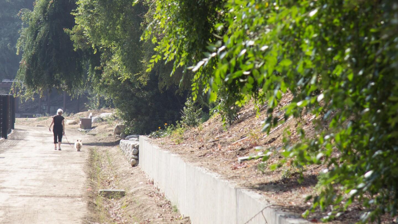 Along the Zev Yaroslavsky L.A. River Greenway Trail | Photo: Jason Goldman