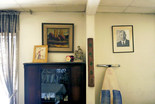 Generations of the Fukui family lived in the apartment located above the mortuary
