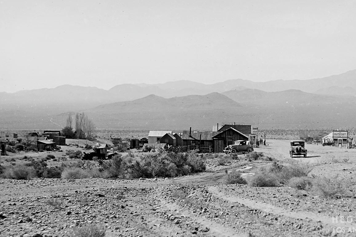Darwin, California in 1931
