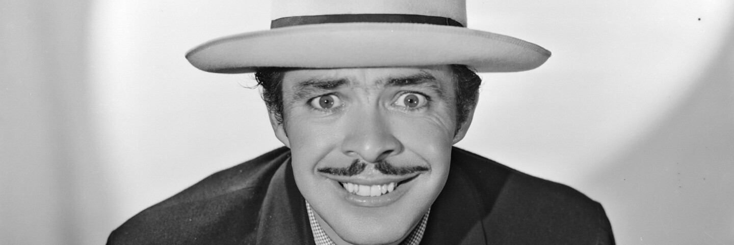 "Germán Valdés ""Tin Tan"" as a pachuco (primary)"