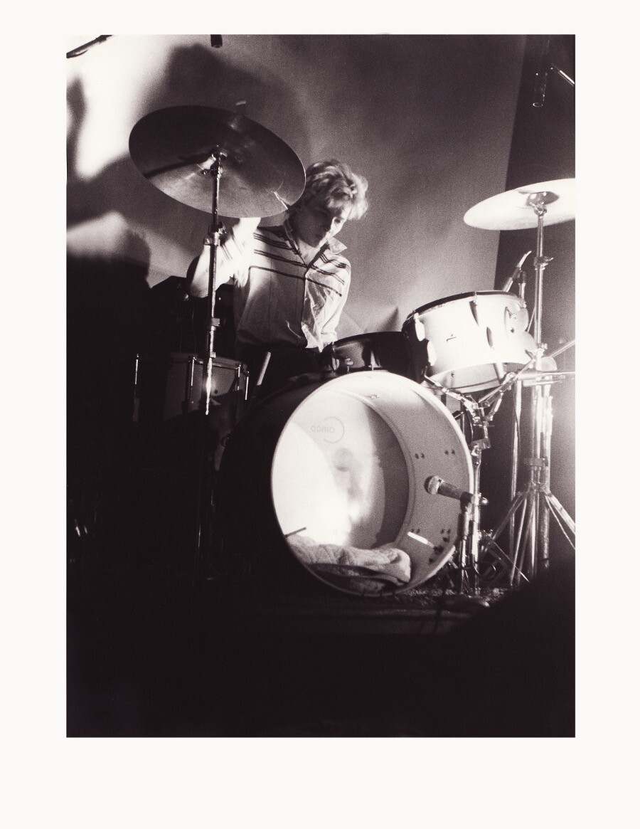 K.K. Barrett on drums. | Photo: Courtesy of K.K. Barrett.