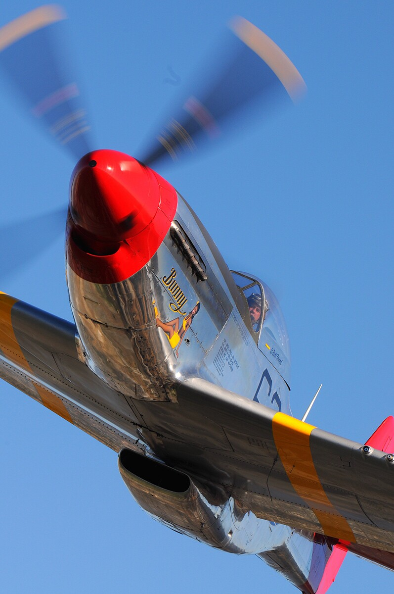 P-51 Mustang | Courtesy of Micheal O' Leary and Air Classics