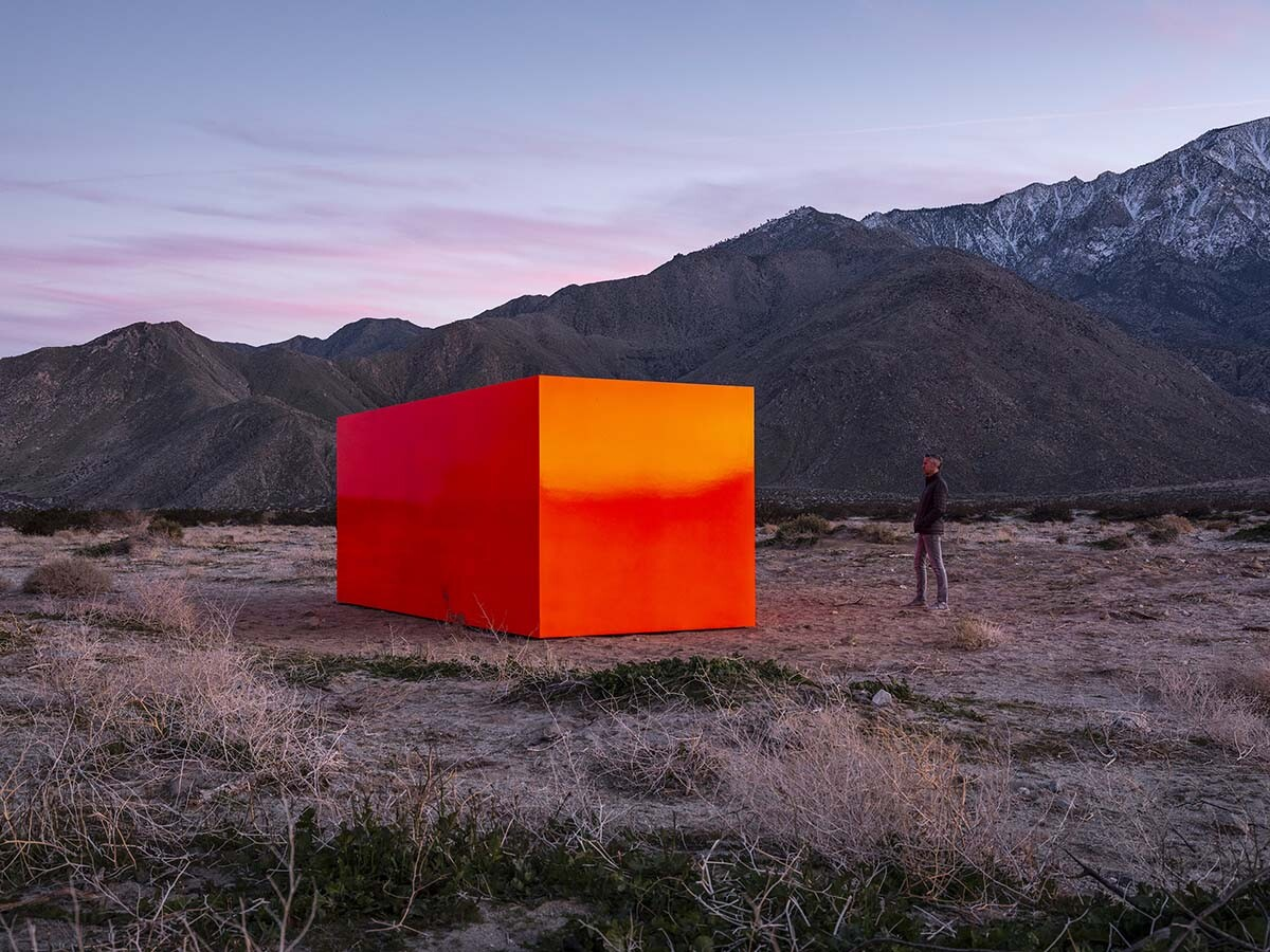 Desert X installation view, Sterling Ruby, Specter, 2019  | Lance Gerber, courtesy of Desert X