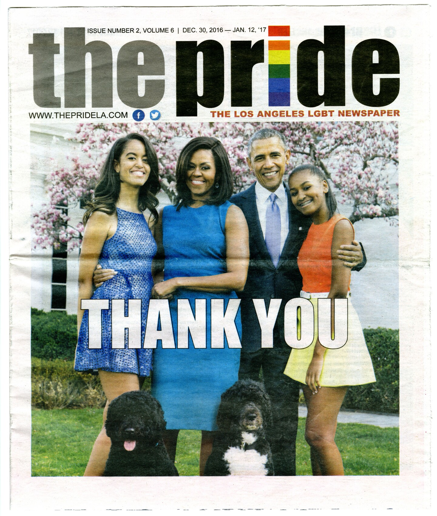 The Pride, December 30, 2016
