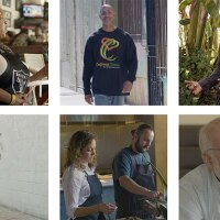 """Some of the people finding solutions to overhaul broken food systems.   Stills from """"Broken Bread"""""""