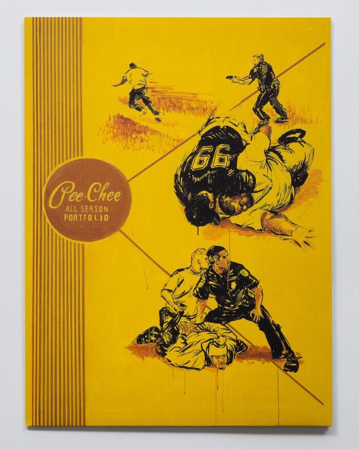 Artist Patrick Martinez re-envisions the Pee-Chee folder