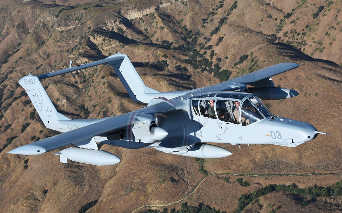 North American Rockwell OV-10 Bronco | Courtesy of Air Classics Magazine and Michael O'Leary