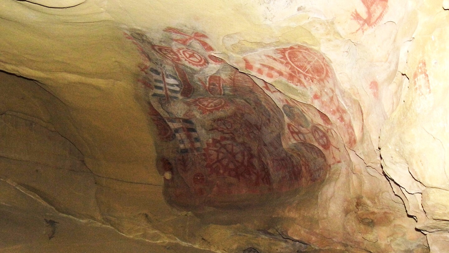 Interior of Chumash Painted Cave