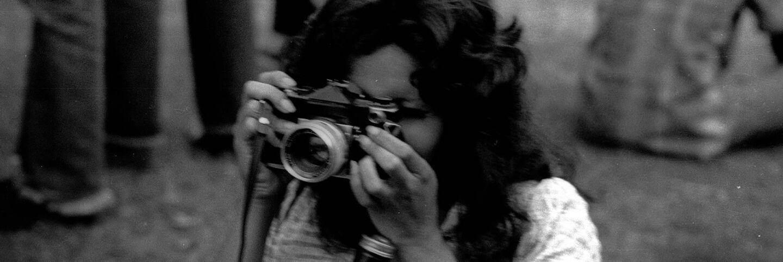 CSRC_LaRaza_B17F6S7_N027 A photographer, possibly Maria Marquez Sanchez   La Raza photograph collection. Courtesy of UCLA Chicano Studies Research Center