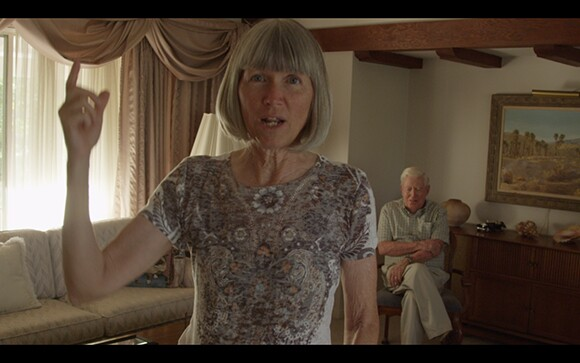 """Nicole Miller, still from video series """"Believing Is Seeing,"""" featuring Redlands residents Diana Kriger and Harold Hartwick"""