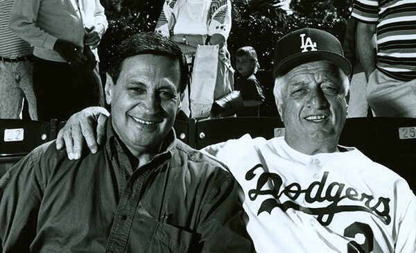 Broadcasting for the Dodgers since 1959, Jaime Jarrin became the Spanish voice of the Dodgers