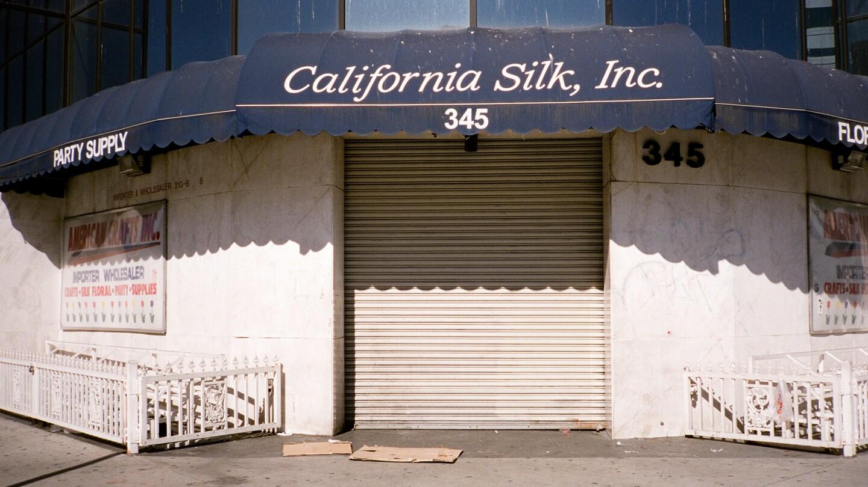 NW Corner of S. San Pedro Street & E. 4th Street.