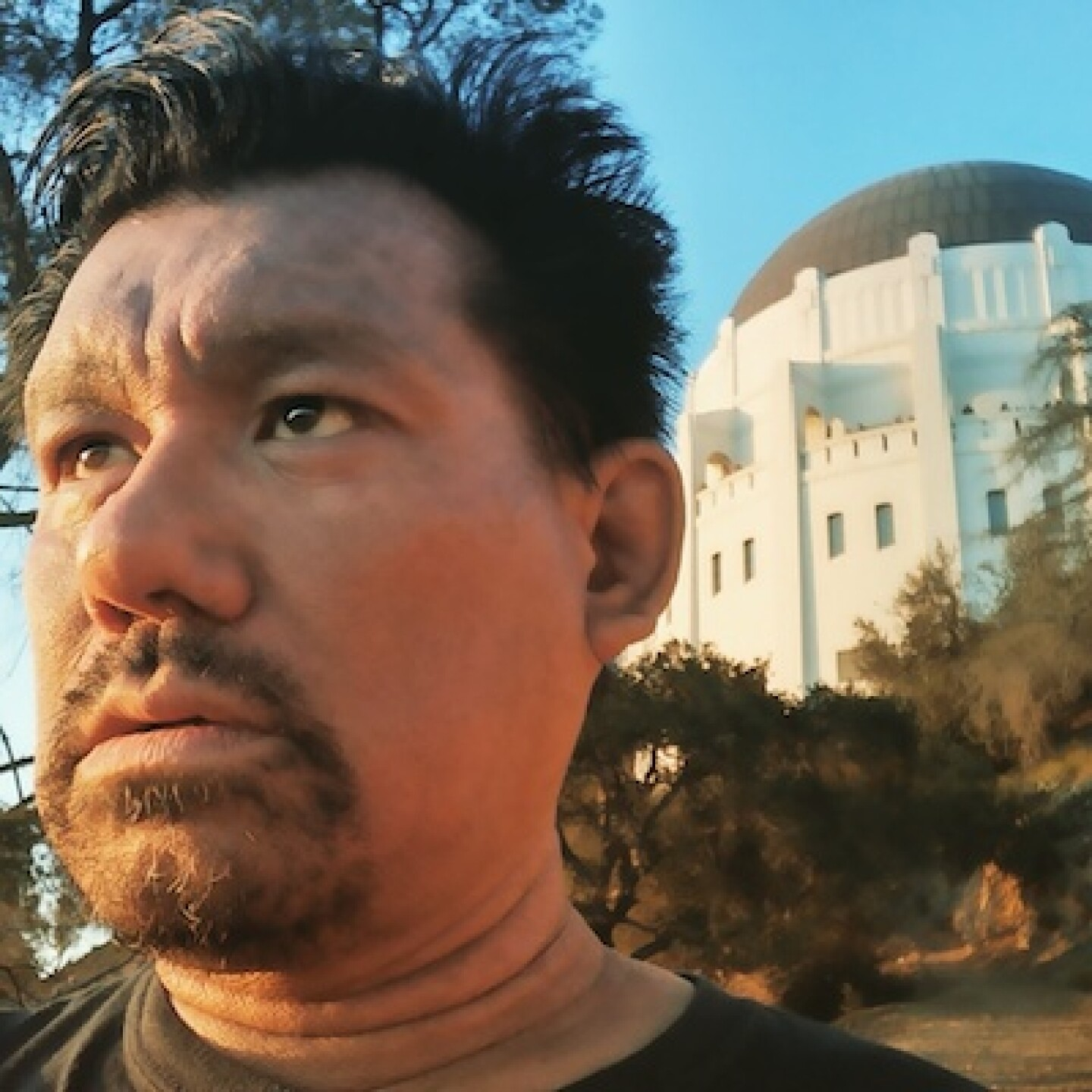 Elson Trinidad at Griffith Observatory