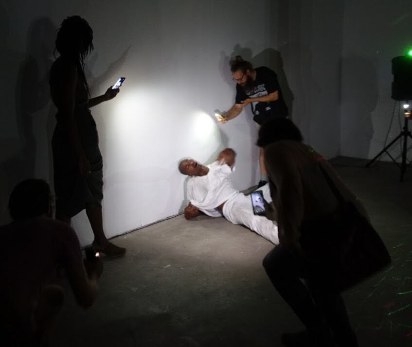 """Kandis Williams and Josh Johnson perform """"Affect: Network: Territory"""" at Human Resources L.A."""