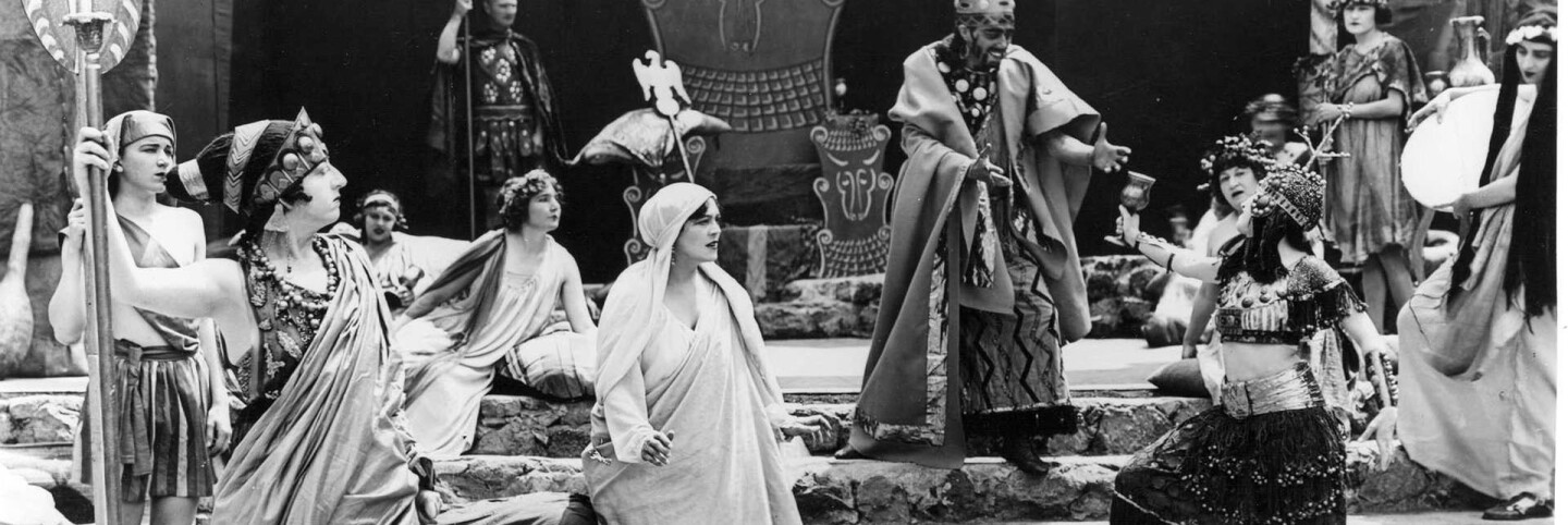 Pilgrimage Play (1922), Salome before Herod | Los Angeles Public Library