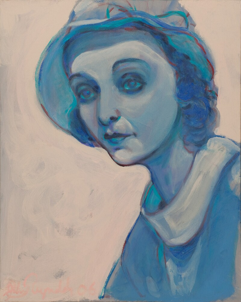 "John Reynolds, ""Zasu In Blue."" 