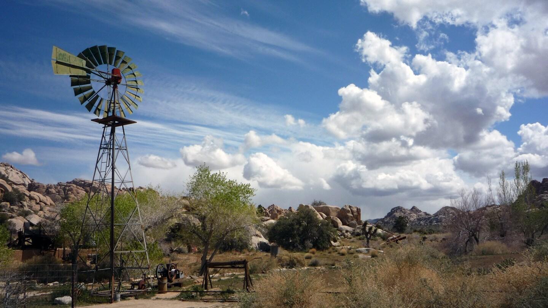 A windmill at Keys Ranch