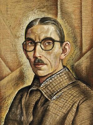 Alfredo Ramos Martínez. Autoretrato Self-Portrait (1938) | ©Alfredo Ramos Martinez Research Project