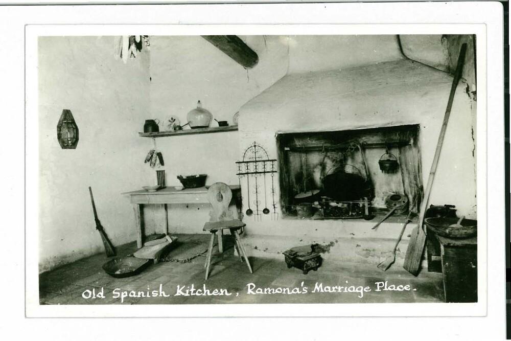 Old Spanish Kitchen in La Casa De Estudillo