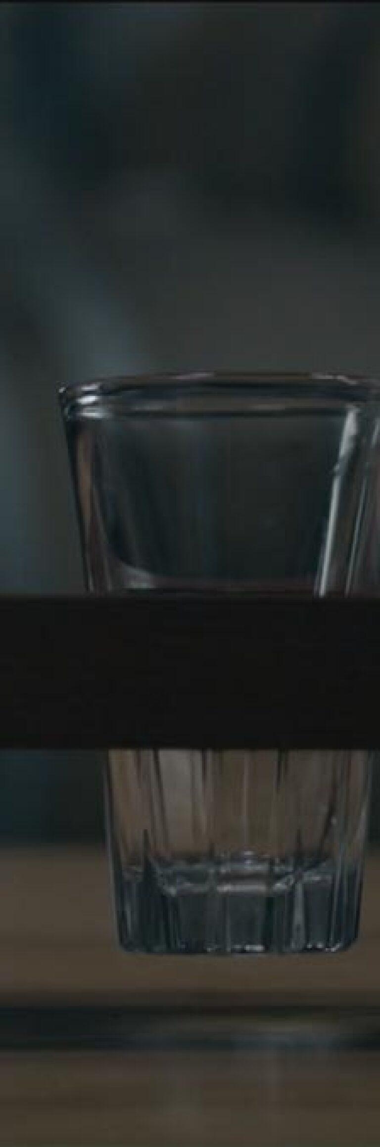 "Three Sequoia sake glasses | Still from ""The Migrant Kitchen"" Sequoia Sake"