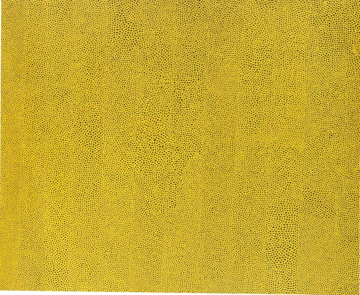 Yayoi Kusama, Infinity Nets Yellow, 1960 | National Gallery of Art, Washington. Gift of the Collectors Committee (2002.37.1). © Yayoi Kusama