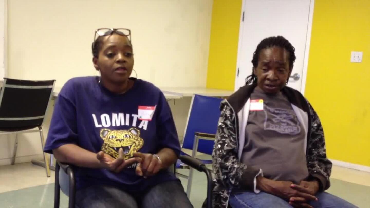 South L.A. Residents Discuss Issues Faced by Their Community