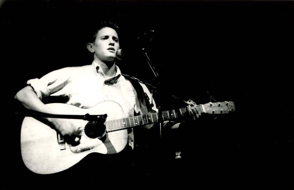 Punk folk singer Phranc in concert
