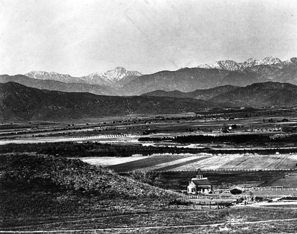 Rancho San Rafael, Glenadale area, circa 1870. Photo courtesy of the Los Angeles Public Library