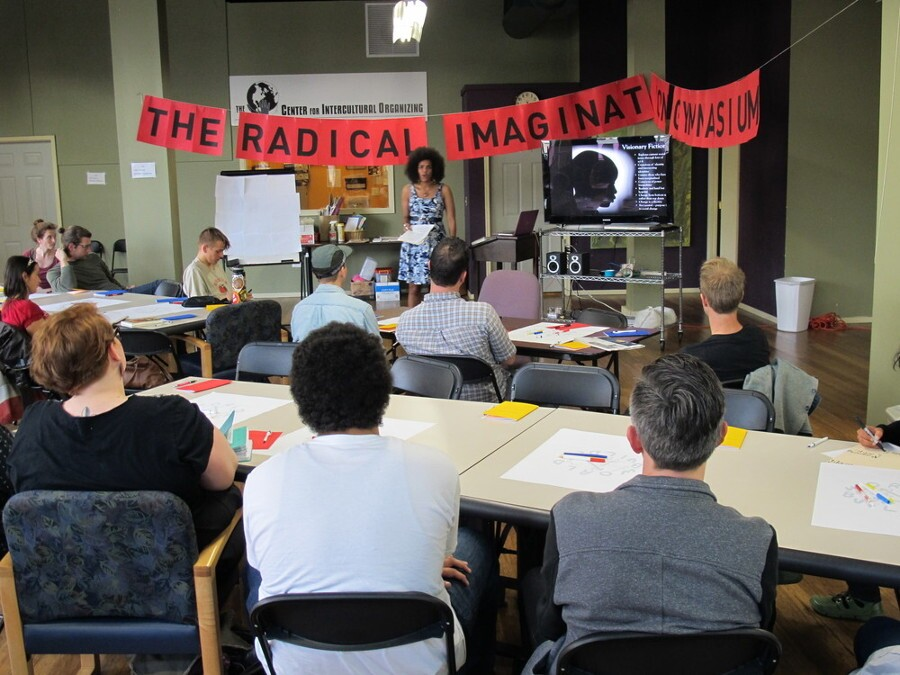 """Radical Imagination Gymnasium"""