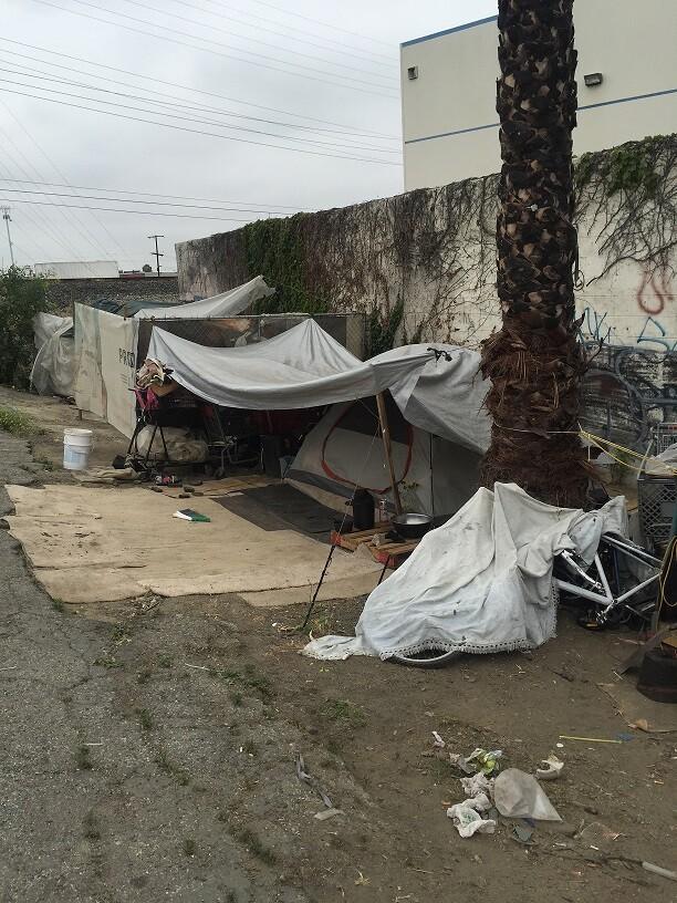 Homeless Along LA River (2)