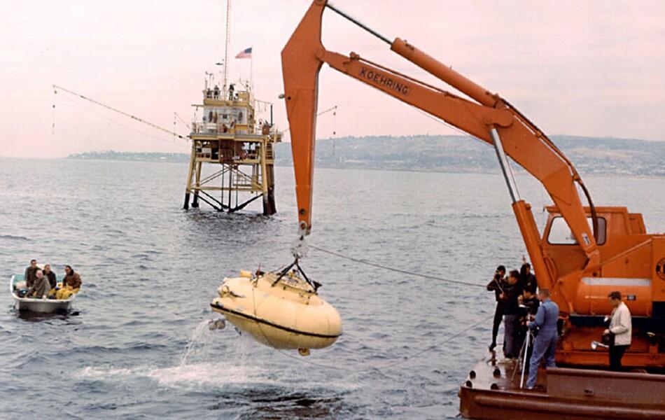 Cousteau's Diving Saucer