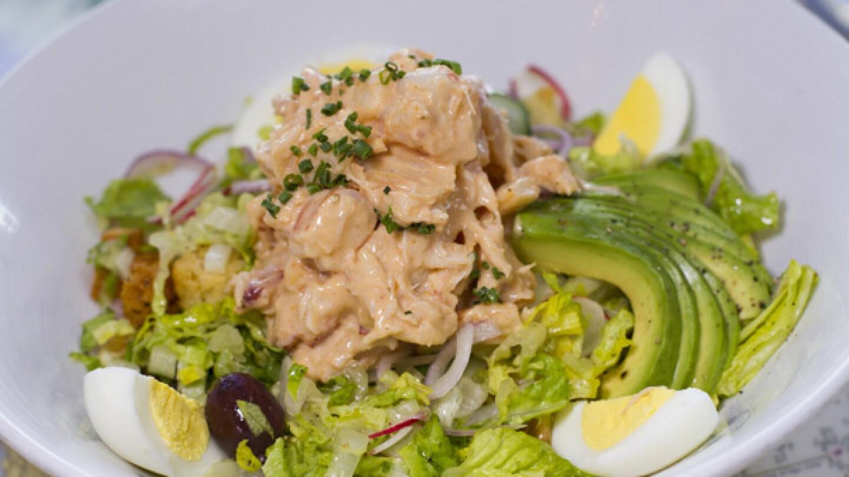 Crab and Shrimp Louie Salad